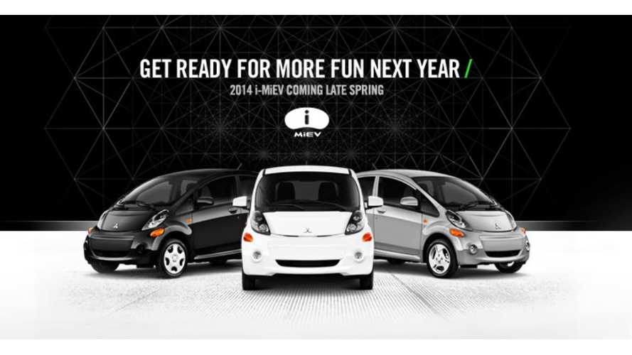 "2014 Mitsubishi i-MiEV Returns to US In ""Late Spring"""