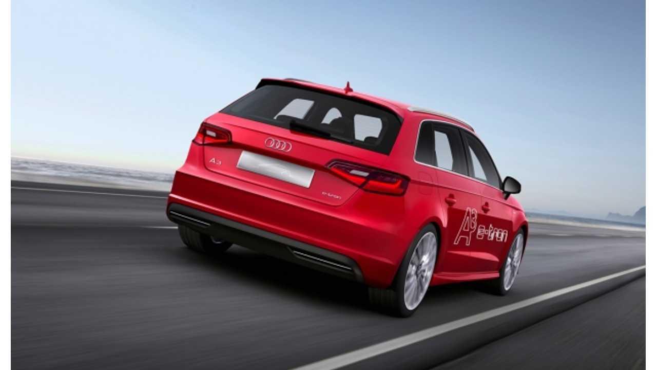 Audi A3 e-tron Rear