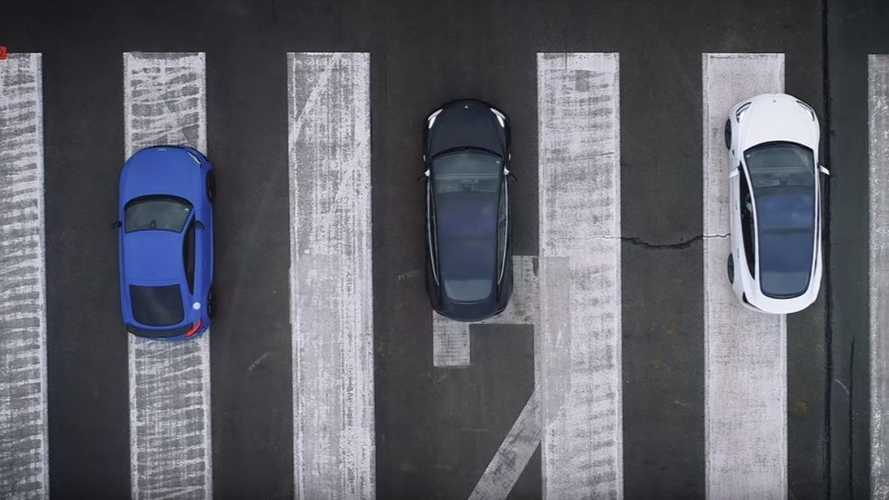 Tesla Model 3 Performance Takes On Audi TT, RWD Model 3