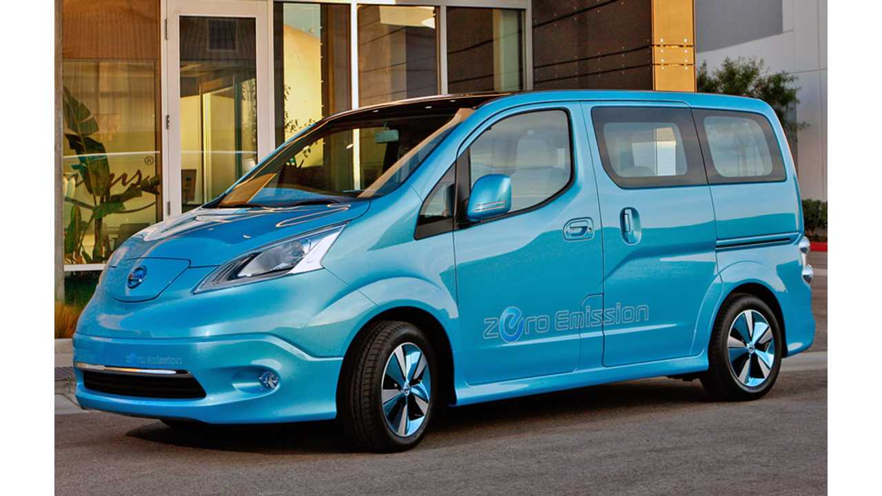 Nissan Puts e-NV200 Compact Van Into Production For 2013