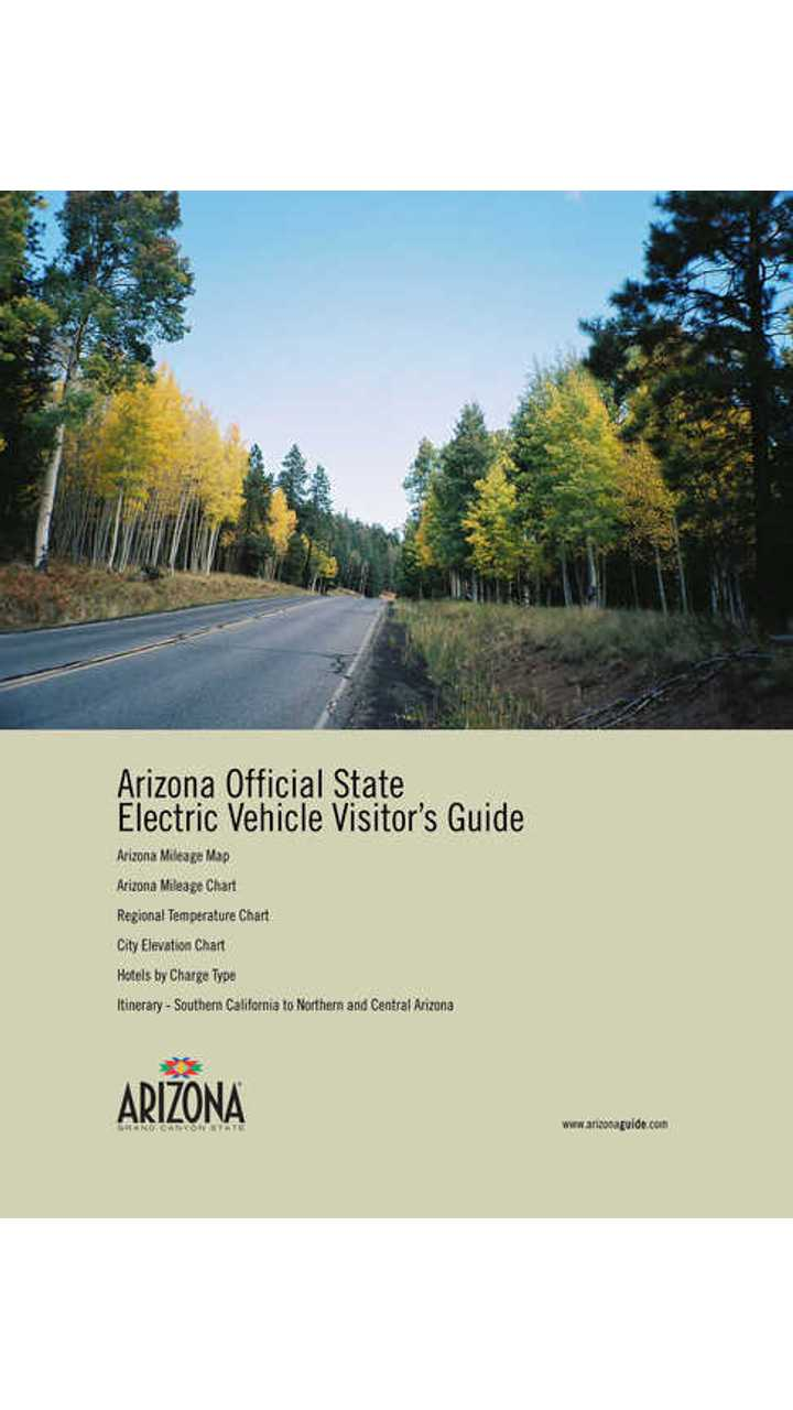Arizona Office of Tourism Unveils Electric Vehicle Visitor's Guide