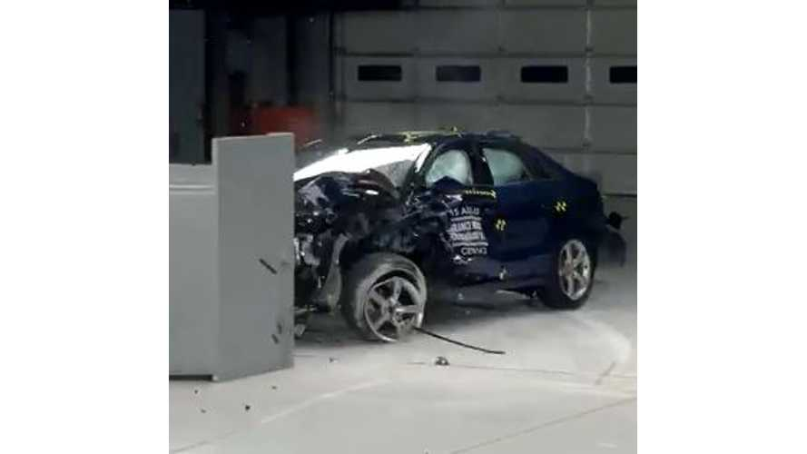 2015 Audi A3 Gets IIHS Top Safety Pick + (w/video)