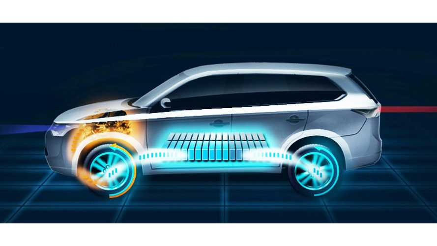 Mitsubishi Outlander Plug-in to Be Revealed in Paris, 30 All Electric 4WD Miles