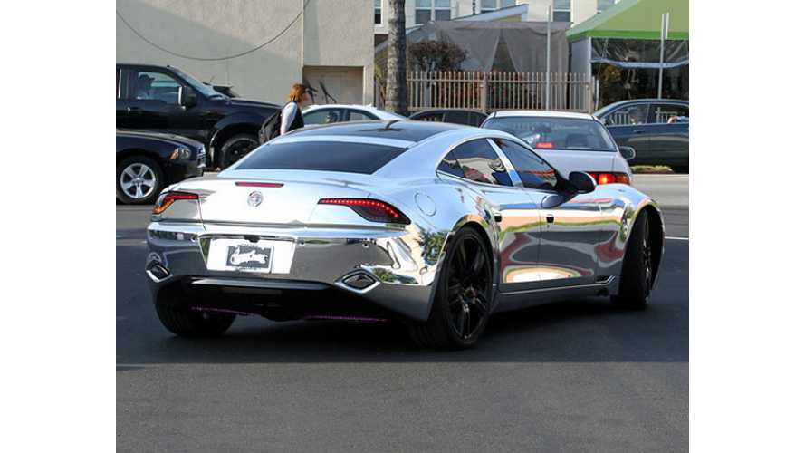 Trying To Escape Paparazzi, Bieber Pulled Over In Chrome Fisker Karma (VIDEO)