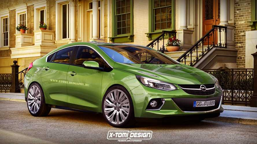 Rendered: Next-Generation Opel Ampera