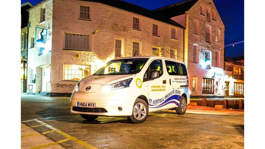 C&C Taxi Hails Nissan e-NV200 (w/video)