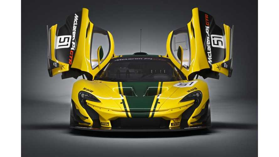 McLaren P1 GTR Fully Revealed In Final Production Form