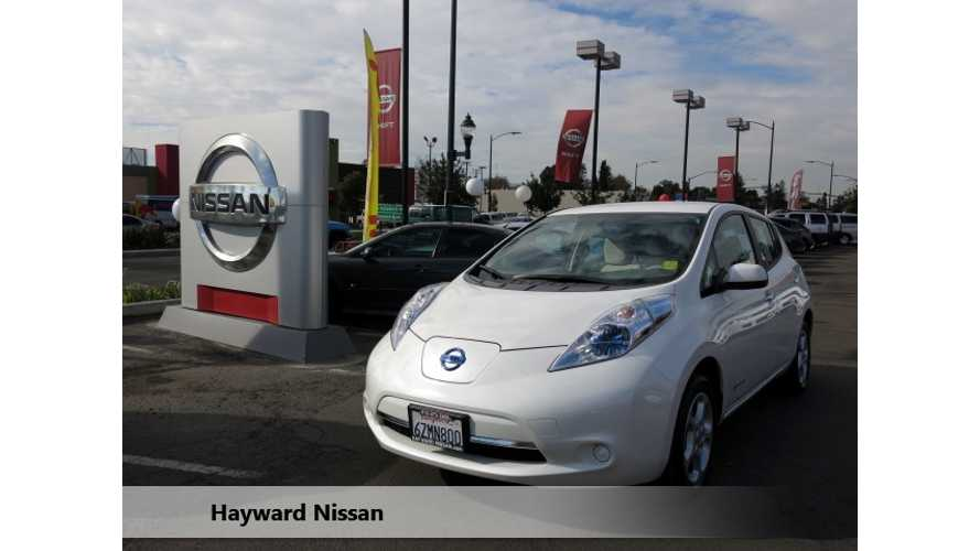 "Dealer Has Concern Over ""Enormous Amount"" Of Incoming Used Nissan LEAFs"