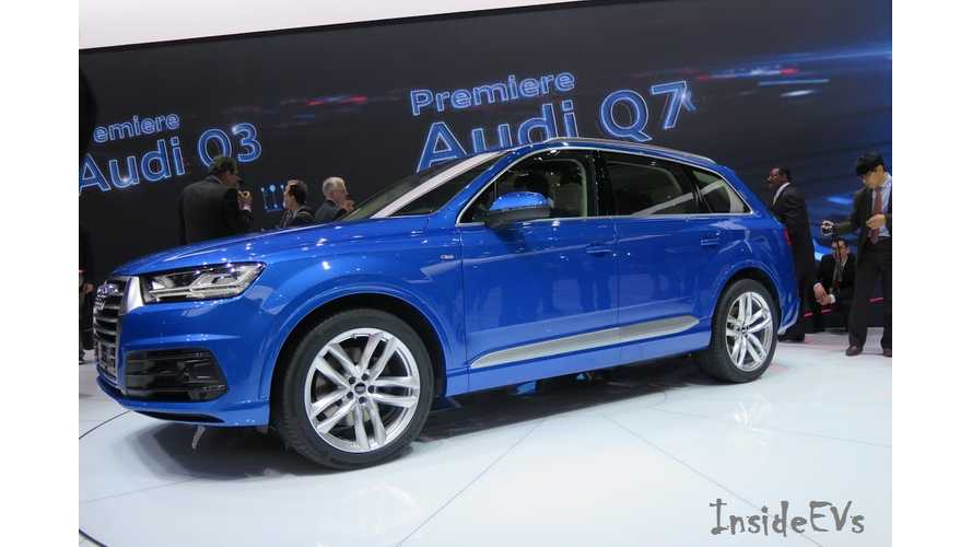 2016 Audi Q7 e-tron To Get Optional Wireless Charging