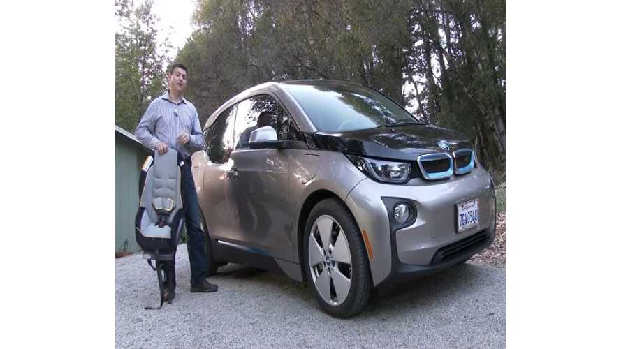 BMW i3 Child Seat Review - Video