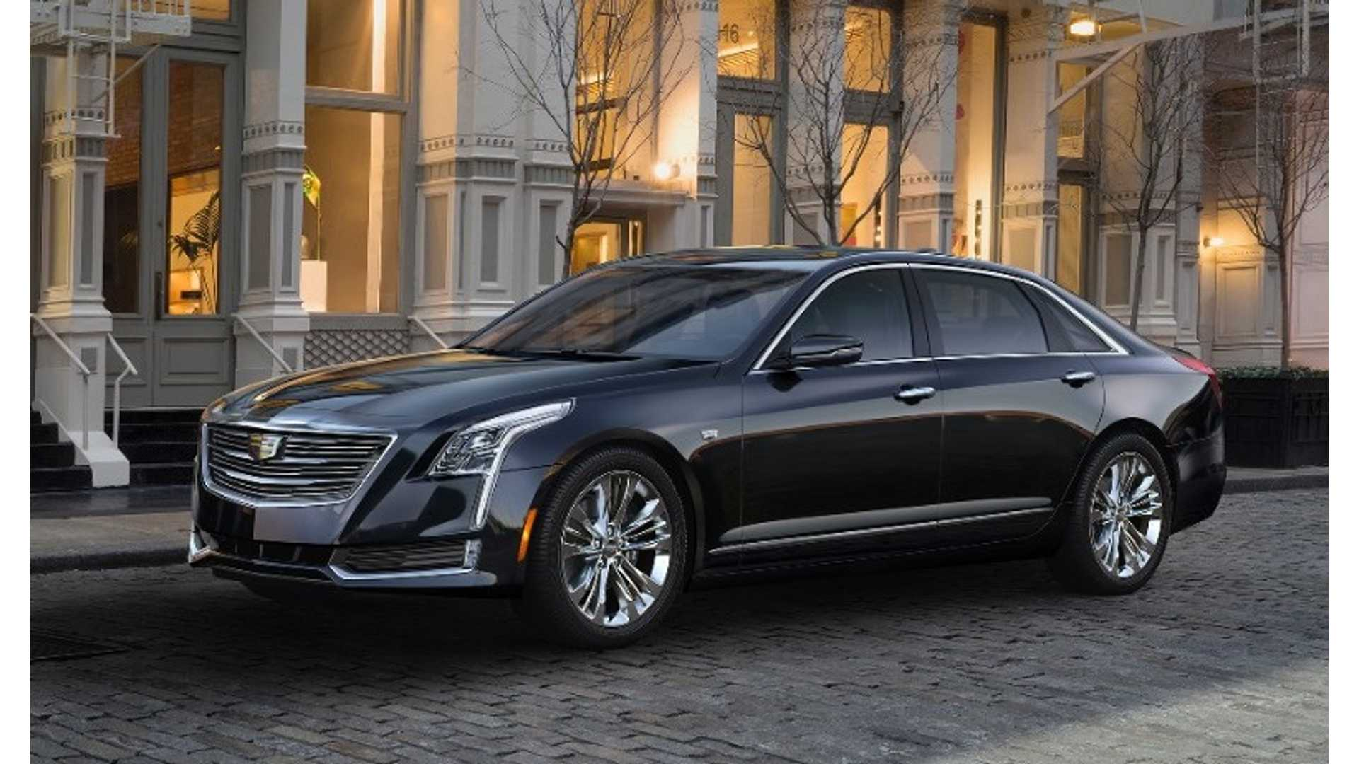 Cadillac Ct6 Revealed Plug In Hybrid Version Confirmed Reveal And Production Videos