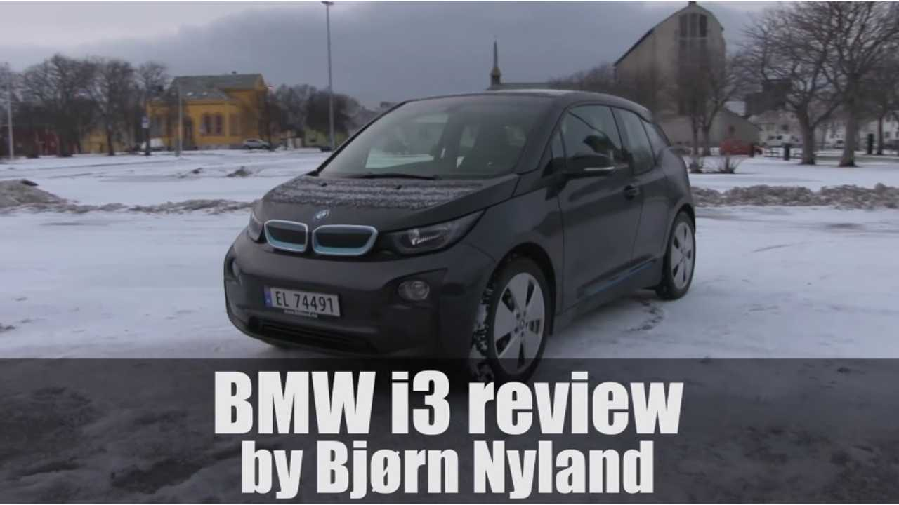 Bjorn Nyland's BMW i3 Review