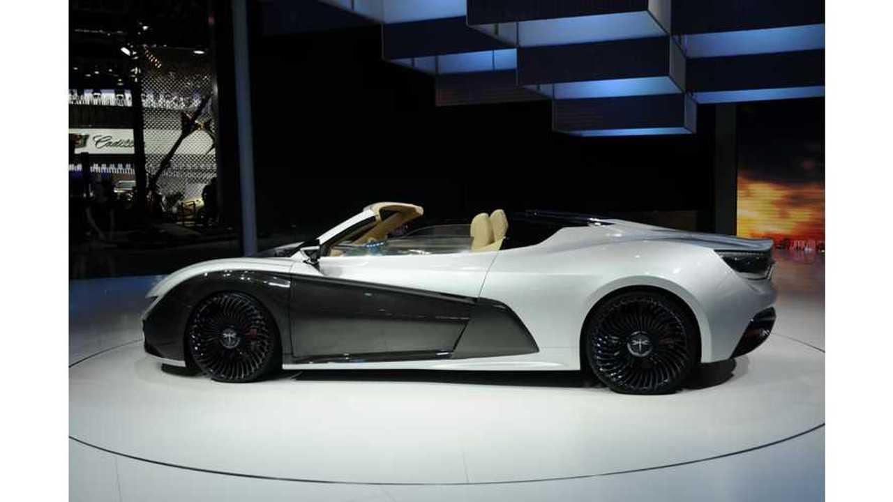 Qiantu K50 Electric Sports Car Debuts In China - Live Review/Test Drive