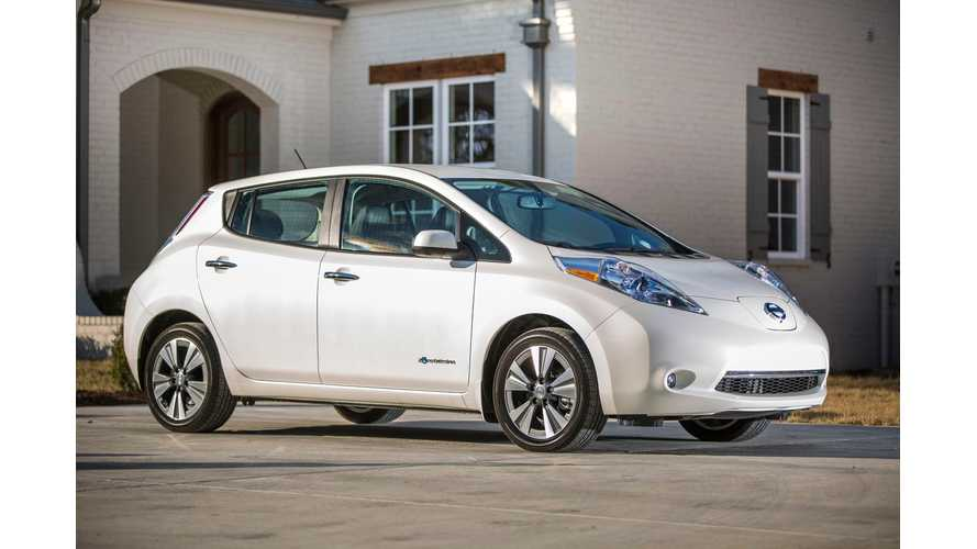 2016 Nissan LEAF #1 On Automotive Science Group's Life-Cycle Emissions Lists