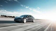 Tesla Model 3 Performance - Midnight Silver Tarmac Motion