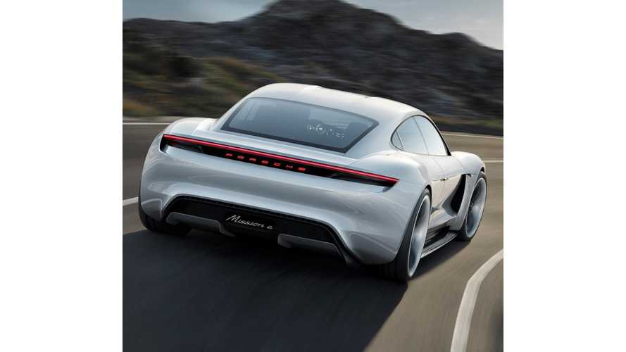 Porsche Mission E Revealed: 500 km/310 Mile Range, 60 In 3.5 Seconds, 15 Minute Charges