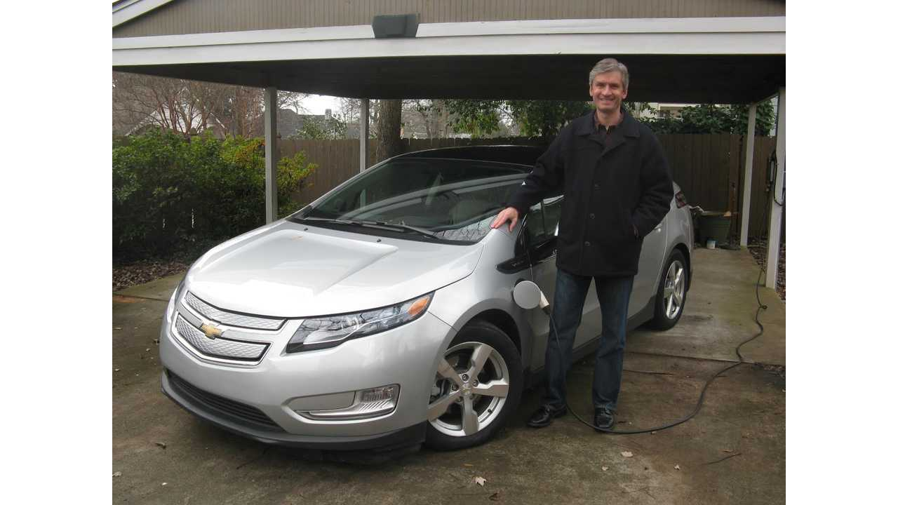 Chris With His Volt Back In 2010