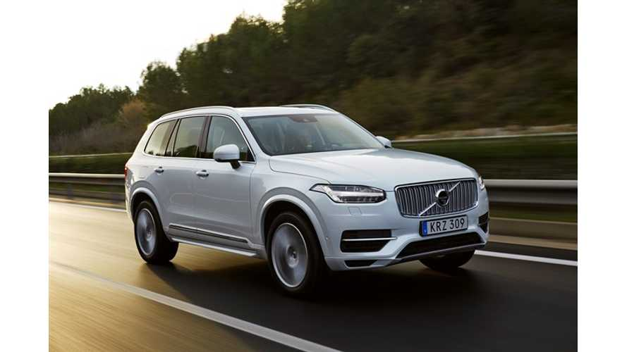 Volvo XC90 T8 PHEV: Strong Competition For Tesla Model X, BMW X5 xDrive40e