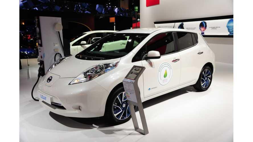 30 kWh 2016 Nissan LEAF Debuts At Frankfurt Motor Show