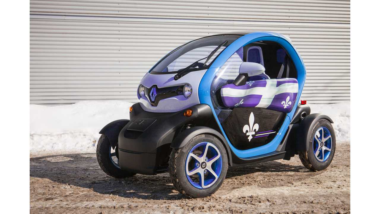 Renault Twizy To Be Sold In Canada From $17,000
