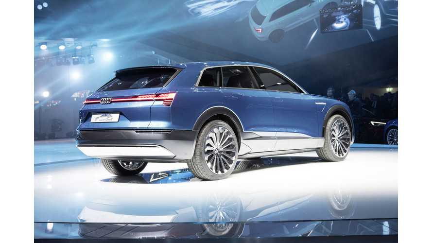 Audi Q6 e-tron Concept To Enter Production Virtually Unchanged