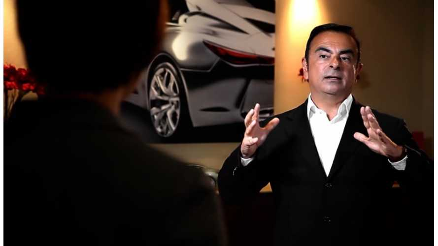 Nissan CEO Discusses Fuel Cell Cars
