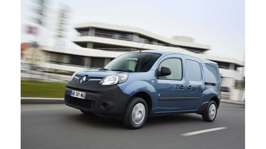 Renault Delivers Kangoo Z.E. To Uruguay And Brazil