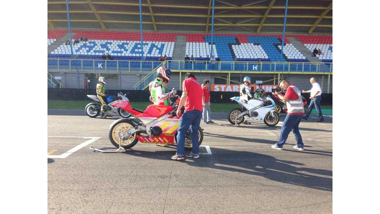Zongshen Racing Triumphs In First Round Of MotoE Championship