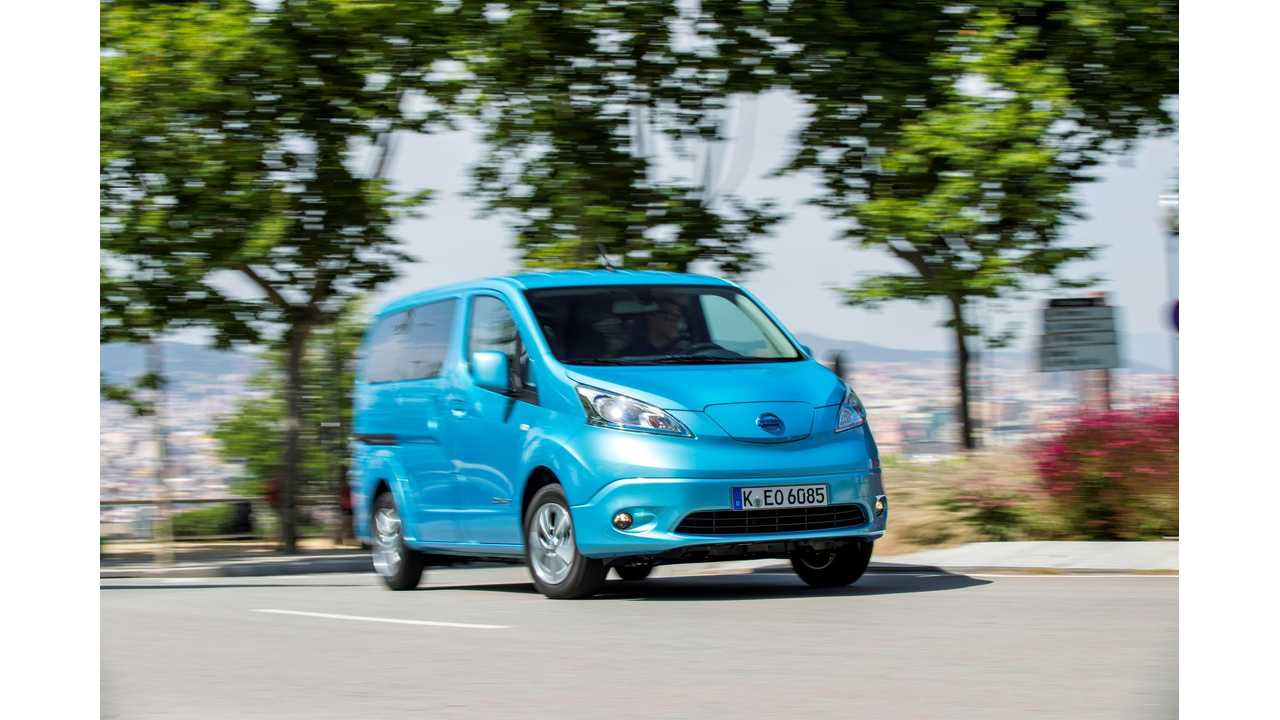 How Businesses In Netherlands Can Buy Nissan e-NV200 For 25% of MSRP