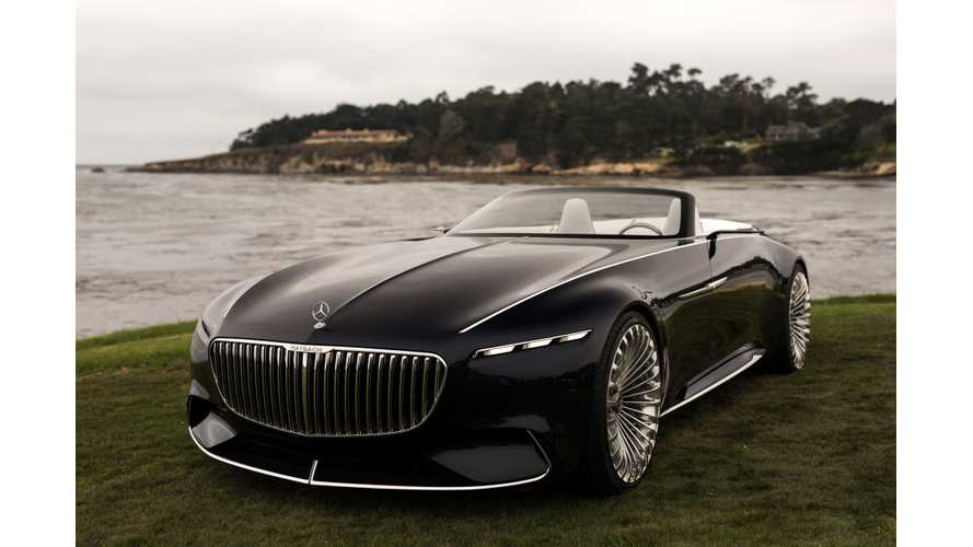 Mercedes-Maybach, VW, Rimac: 2017 Pebble Beach Concours D'Elegance Extensive Galleries