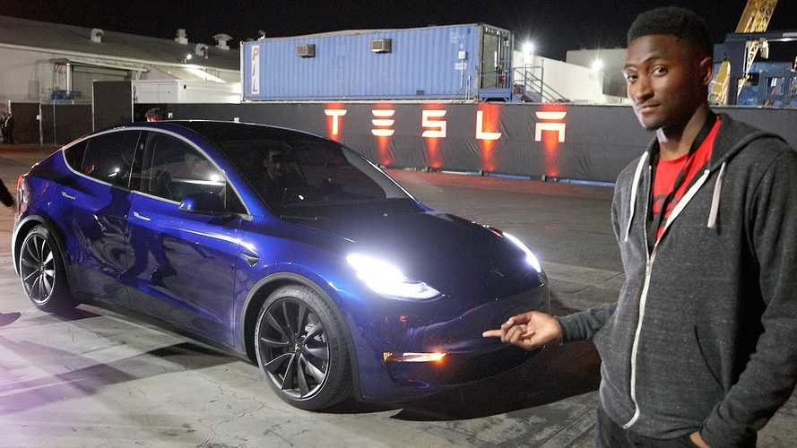 Tesla Model Y Event Video Overload