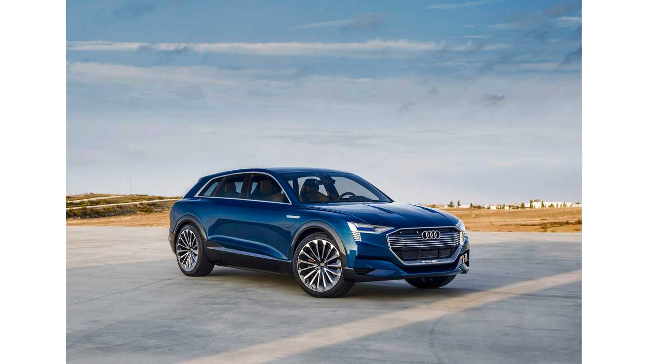 Audi e-tron SUV Confirmed For 2018 With 300+ Mile (500 km) Electric Range
