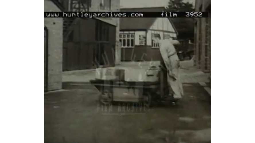 Archives Video: Electric Vehicles For Inside Factory Use In 1952
