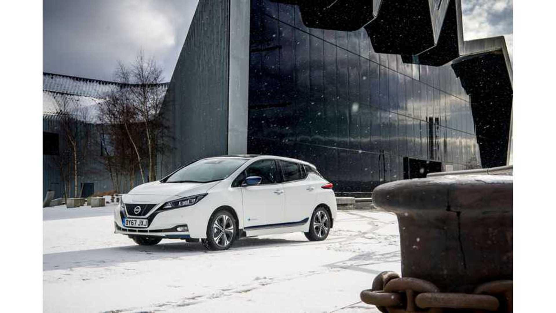 Watch This Nissan LEAF Winter Range Test: Video