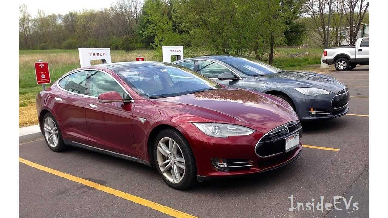 Driving 715 Miles In A 2015 Tesla Model S