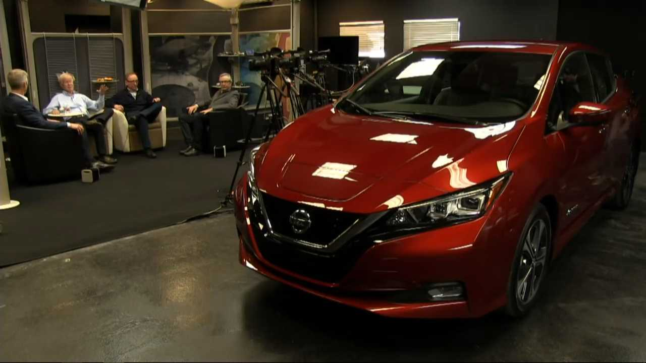 Nissan Exec Discusses New LEAF, Acquisition Of Teardown Tesla Model 3