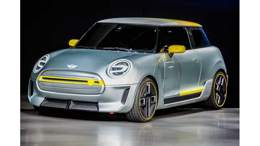 Electric Mini E Not Entering Production Until November 2019