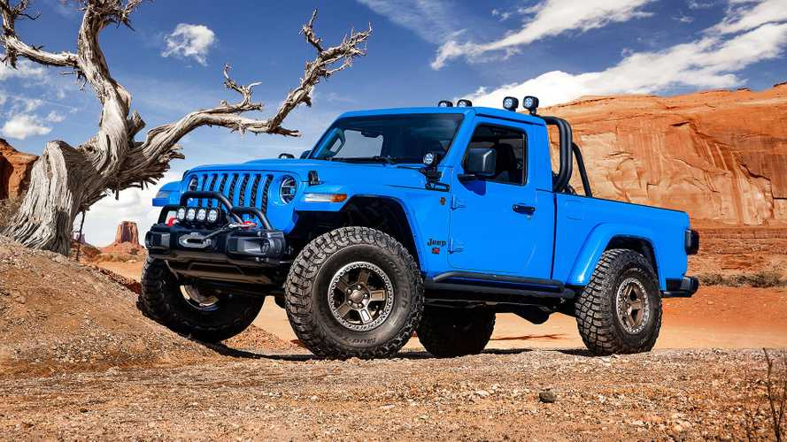 Jeep Easter Safari 2019, 6 concept esaltano la Gladiator