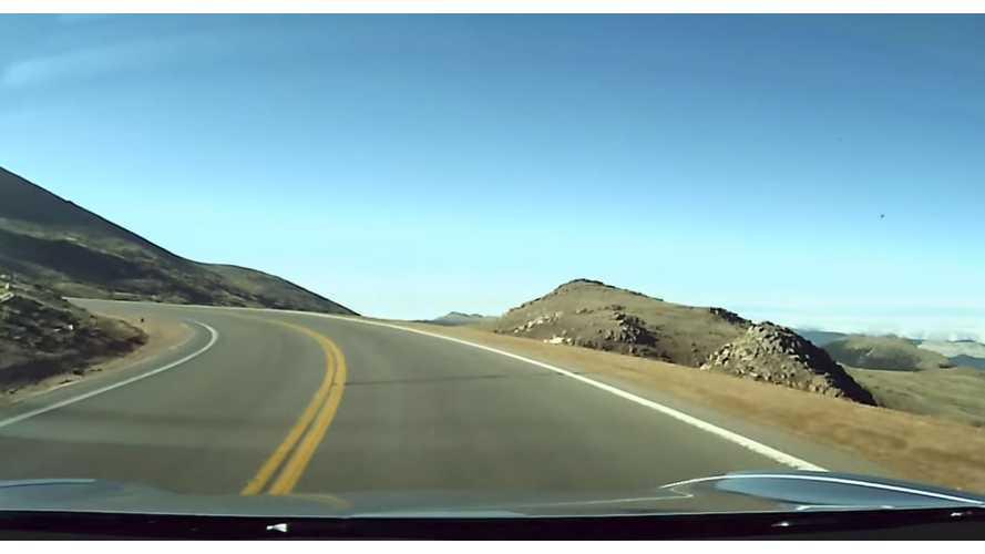 Watch Tesla Model 3 Tackle Pikes Peak