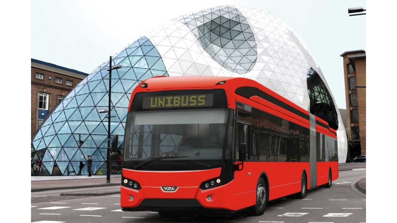VDL To Deliver 40 Electric Buses To Unibuss AS of Norway