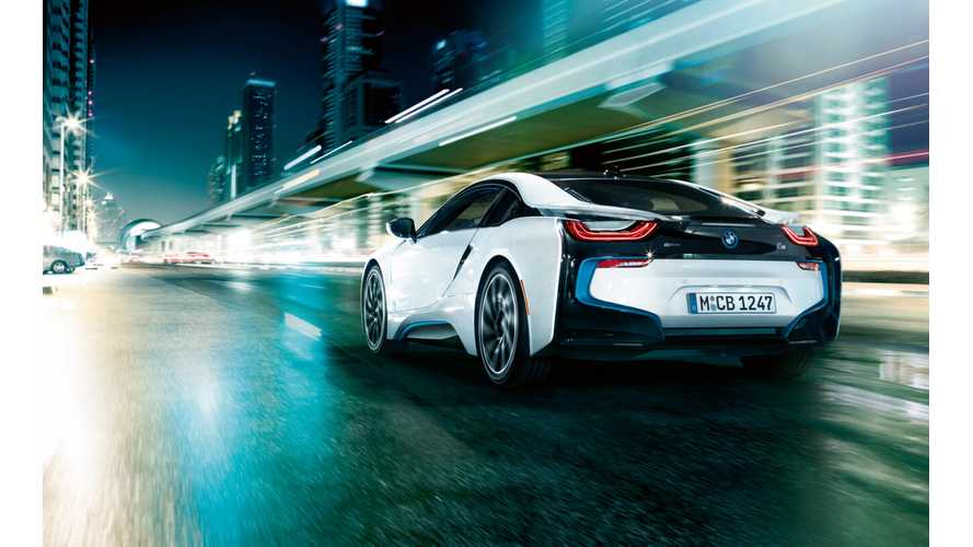 Updated BMW i8 Coming With More HP On Tap