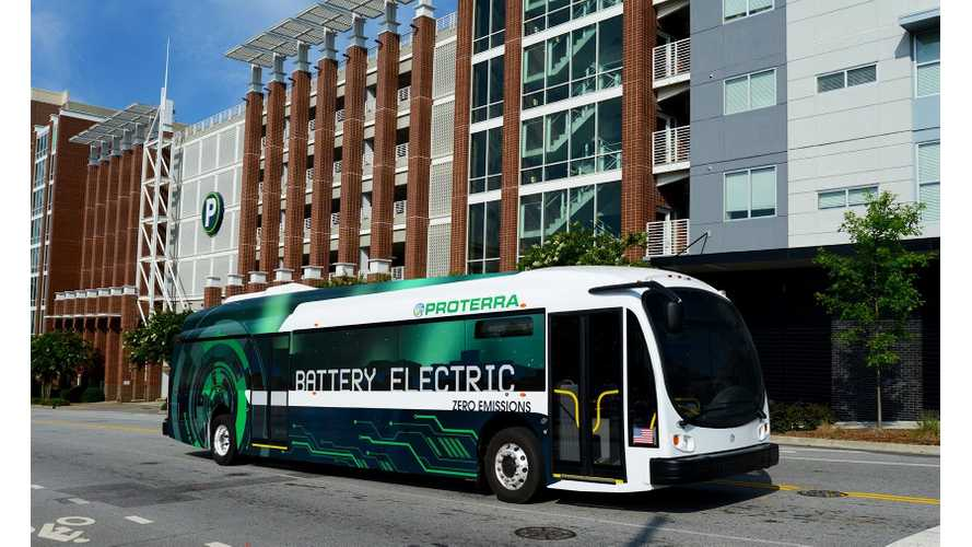 Proterra EV Buses Reaches 1,000,000th Mile in Revenue Service