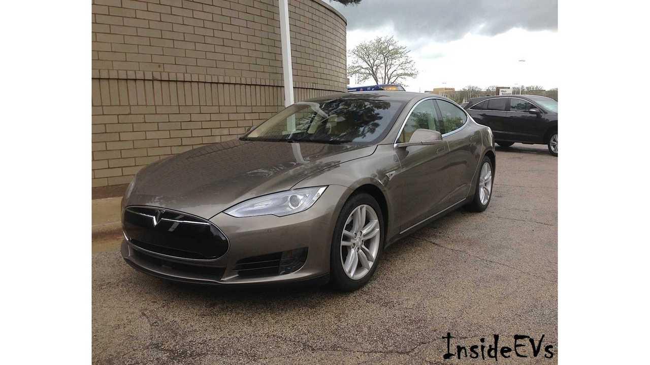Tesla Model S 70D Review, Test Drive & 0-60 MPH Test + Close Look At New Titanium Metallic Paint