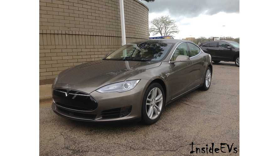 Tesla Model S 70D Review, Test Drive & 0-60 MPH Test + Close Look At New Titanium Metallic Paint