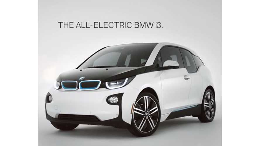 BREAKING: BMW Finally Increases i3 Lease Credit To Industry Norm Of $7,500