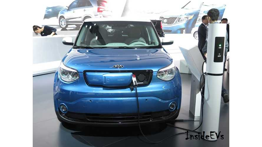 "Kia Soul EV Named ""Best Value In America"" In Electric/Plug-In Hybrid Category"