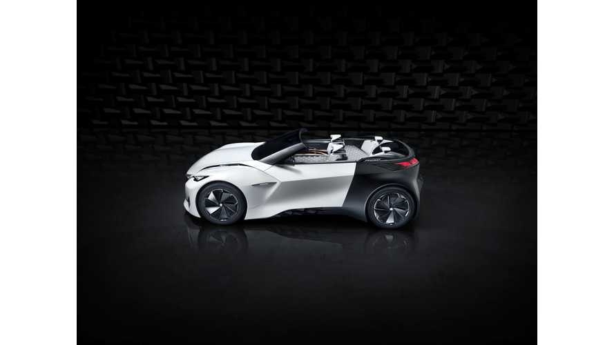 Peugeot Previews Electric Urban Coupé Fractal (w/videos)