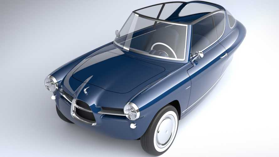 Nobe Reveals Adorably Retro Three-Wheel Electric Car