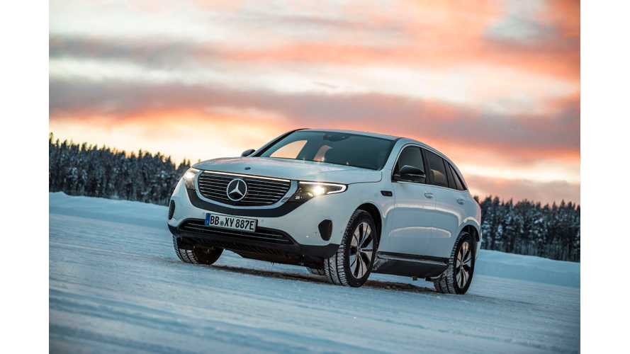 Mercedes-Benz Relentlessly Tests EQC In Sweden
