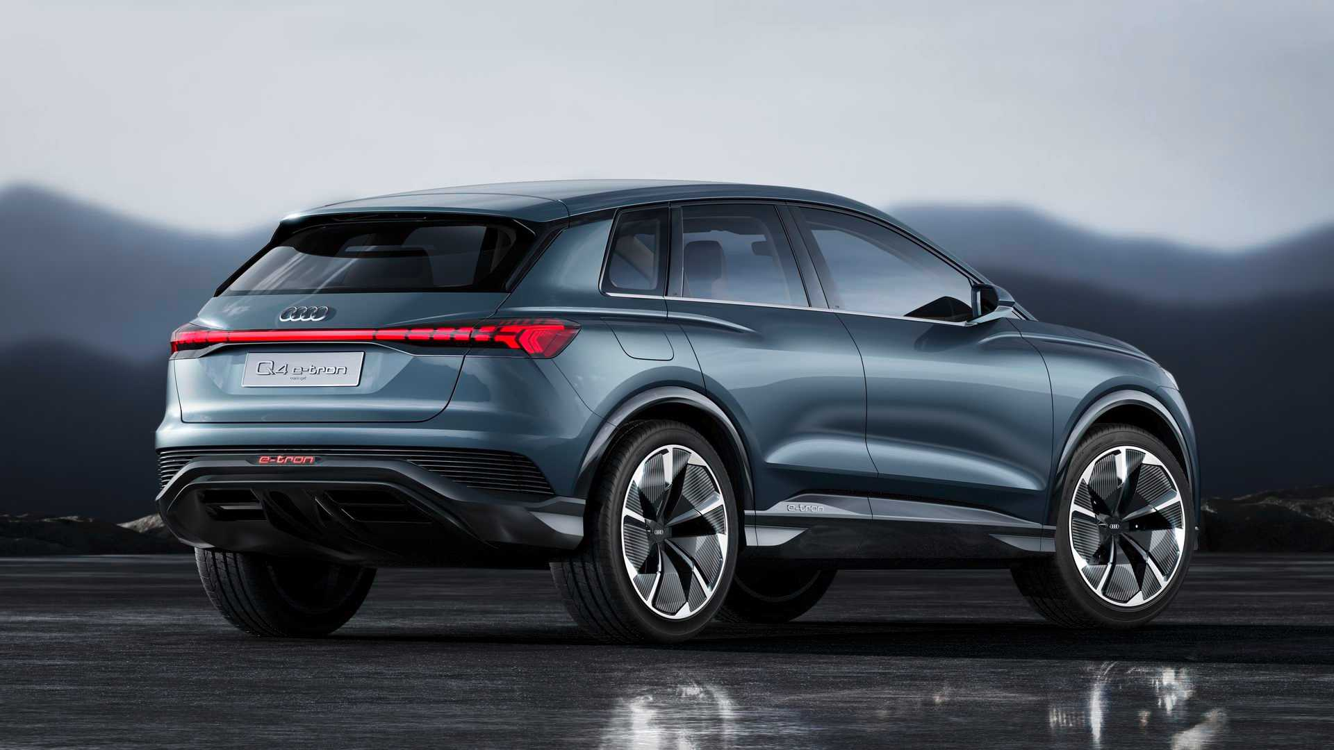 Audi Q4 E-Tron To Offer 25 Ways To Customize Headlights ...